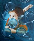 L'enfant et les bulles