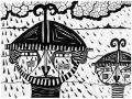Les guerriers ne pleurent que sous la pluie