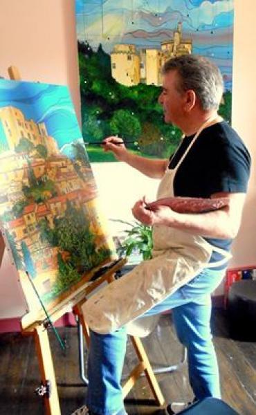 Faure alain pr sentation de l 39 artiste for Peinture conceptuelle